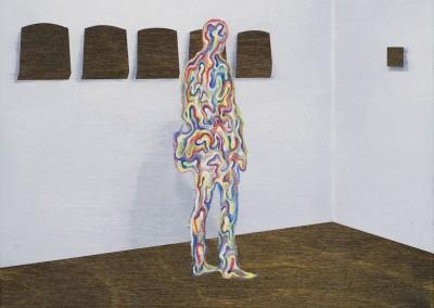Visiteurs no.34, 26 x 18 cm, 2010, VENDU