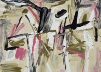 Les danseurs, 140 x 165 cm, 2012