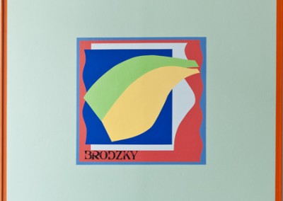 Conclusion and Transfer #8, 123 x 123 cm, 1967