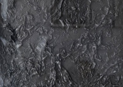 Untitled Black, 76 x 58.4 cm, 1980, SOLD