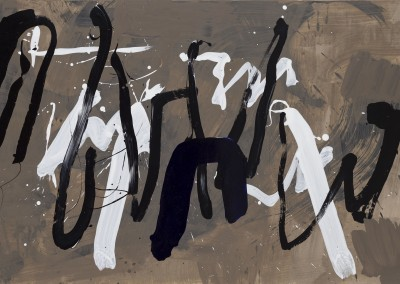 Magic Script, 79 x 139 cm, 2012, VENDU
