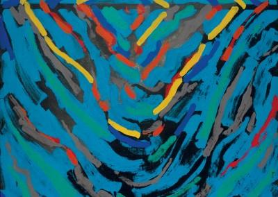 Oxymoron A, 121.9 x 121.9 cm, 2010