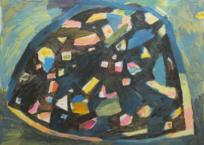 Pebble, 91 x 122 cm, 2018