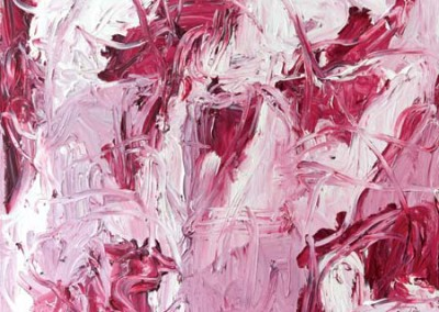 Untitled Red, 183 x 183 cm, 1987