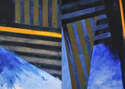 Razzle Dazzle I, 100 x 400 cm, 2010