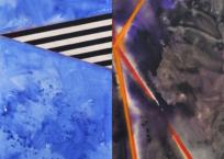 Razzle Dazzle IV, 200 x 200 cm, 2011