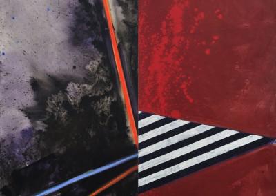 Razzle Dazzle V, 200 x 200 cm, 2011, VENDU