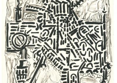 Suite Guerrière, 160 x 117 cm, 1972, SOLD