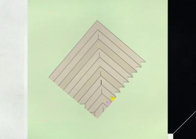 Sans titre 10, 112 x 336 cm, 2012