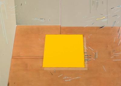 Sans titre 24 (Inspiré d'une œuvre de Tom Benson), 152 x 128 cm, 2014