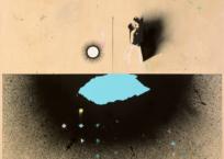 Sans titre 27 (Échantillonnage: photo de Waltraud Schulze), 107 x 107 cm, 2014, VENDU