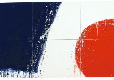 Sans titre (La vitesse du Rocket), 122 x 228.5 cm, 1974, SOLD