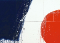 Sans titre (La vitesse du Rocket), 122 x 228.5 cm, 1974, VENDU