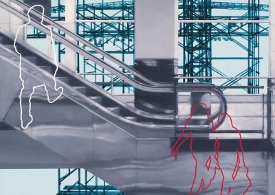 Espace public no. 36, 76 x 76 cm, 2010, SOLD