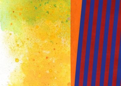Strates II, 76 x 56 cm, 2013, VENDU