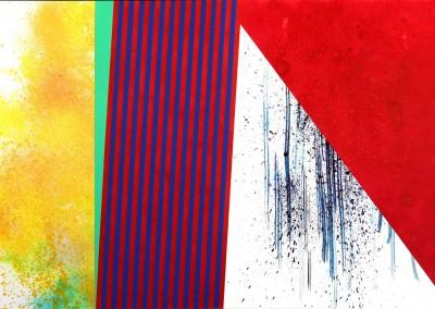 Strates XVIII, 76 x 112 cm, 2013