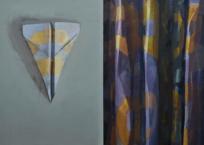 Tableau de chevet 1, 56 x 71 cm, 2013, VENDU