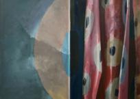 Tableau de chevet 3, 56 x 71 cm, 2013, VENDU