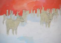 Duel, 91 x 122 cm, 2016
