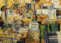 Étude pour l'atelier-intérieur, 23 x 30.5 cm, 2018