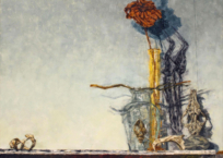 Le bubale, 45.5 x 55.5 cm, 2020