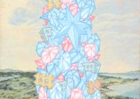 Babel no.2, 31 x 31 cm, 2020