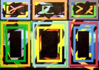 Les Briques 5, 213 x 152 cm, 2016