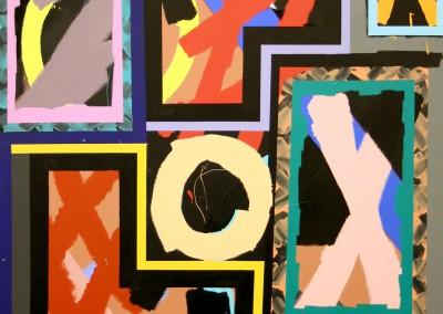 Les Briques 4, 122 x 152 cm, 2016