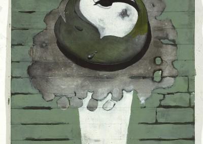 Cercle, 105 x 44 cm, 2007