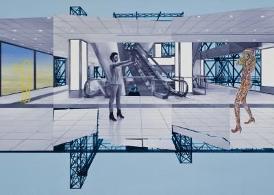 Espace Public no. 47, 91 x 147 cm, 2012, SOLD