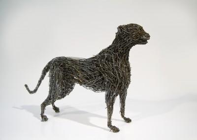 Guépard, 21 x 35 x 7 cm, 2009, VENDU