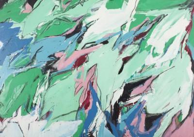 Paparmane, 91 x 122 cm, 1962, SOLD
