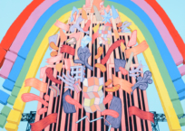 La mutation de l'empire, 91 x 91 cm, 2018