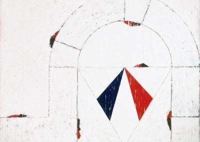 Période supplémentaire, 168 x 213 cm, 1980, SOLD
