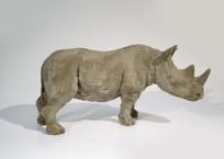 Rhinocéros, 17 x 37 x 10 cm, 2009