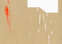 Sans titre 25 (Échantillonnage: affiche Château Vacant), 63.5 x 183 cm, 2014