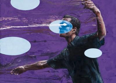 Engloutis no.66, 77 x 77 cm, 2009