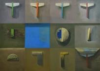 Des équerres et des angles, 76.2 x 101.6 cm, 2016