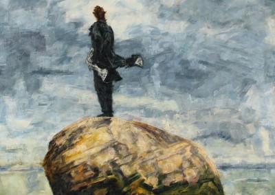Francis, Cap-à-l'Aigle, 129.2 x 91.2 cm, 2016, SOLD