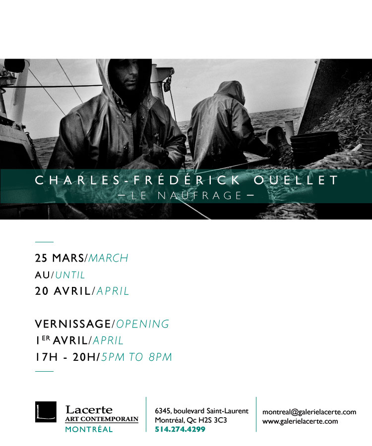 Carton Ouellet, Le Naufrage, Mtl, 2015