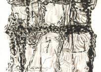 Suite Poursuite de famille, 117 x 158 cm, 1972, SOLD