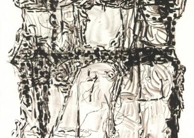 Suite Poursuite de famille, 117 x 158 cm, 1972
