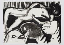 Gosseping, 56 x 76 cm, 2005