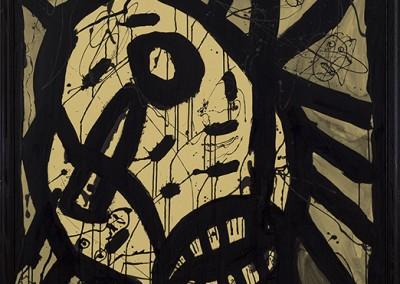 L'homme brisé, 152 x 102 cm, 2010