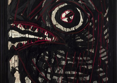 Black Eye, 152 x 102 cm, 2008