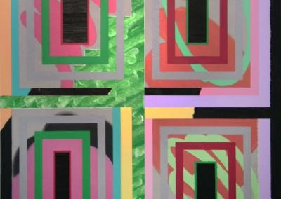 Les Briques 13, 121.92 x 91.44 cm, 2016