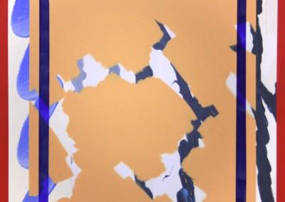 Les Briques 10, 76.2 x 71.12 cm, 2016