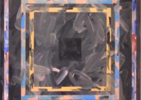 Les Briques 16, 81.28 x 81.28 cm, 2016 (VENDU)