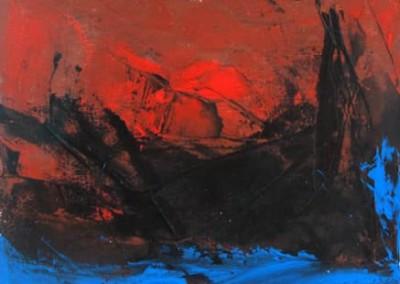 Sans titre, 11 x 14.5 cm, 1962, SOLD