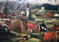Hochelaga, 41 x 59.25 cm, 1930, SOLD